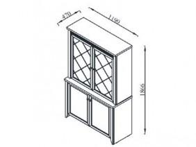 ГЛОРИ витрина 2-ка